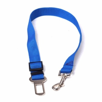 Pet Car Vehicle Seat Belt Safety Seatbelt Harness Leash Lead Dog Cat Adjustable - intl