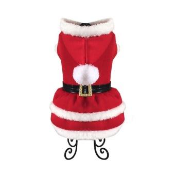Pet Clothes Christmas Dress - Red XL - intl