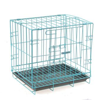 Pet metal cage Playpen Blue - intl - 3