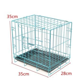 Pet metal cage Playpen Blue - intl - 5