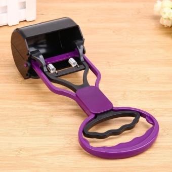 Pet Pooper Scooper Long Handle Jaw Poop Scoop Clean Pick Up AnimalWaste - intl - 4