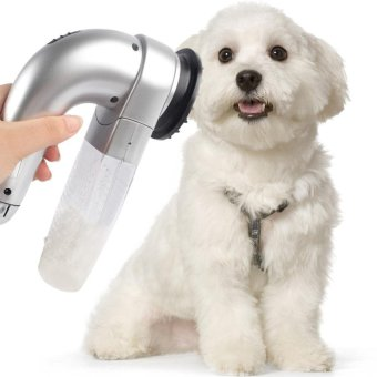 Pet Shed Pal Grooming Dog Cat Hair Collection Removal Vacuum FurSuction Device Incredible Cordless - intl