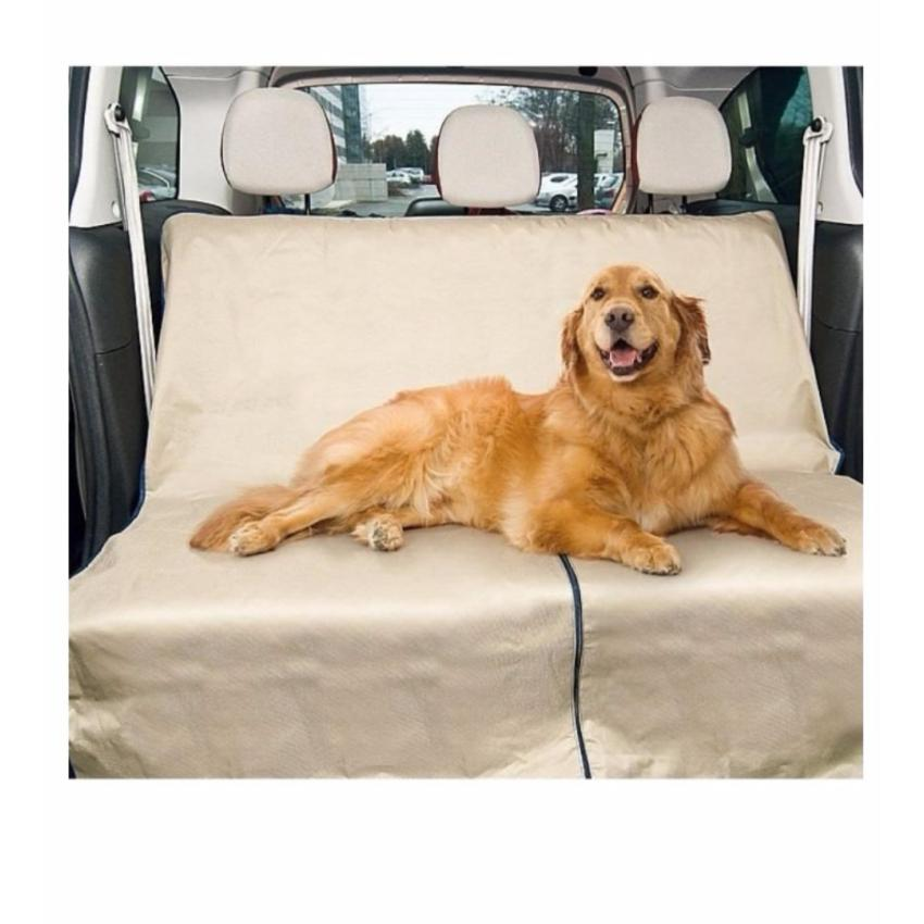 Pet Zoom Loungee Auto Pet Seat Cover (Beige)