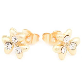 Piedras APL62 Two In One Earrings (Yellow Gold) - picture 2