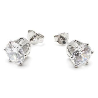 Piedras jewelry cubic ziconia earrings in 18k micron plating buy 1take 1 - 4