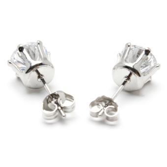 Piedras jewelry cubic ziconia earrings in 18k micron plating buy 1take 1 - 3