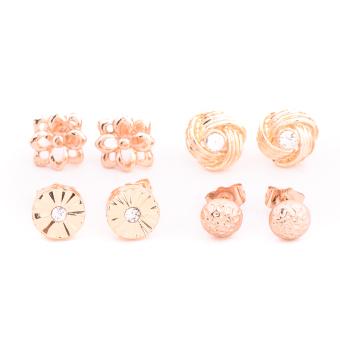 Piedras Paug31 Earrings (Gold) - 3