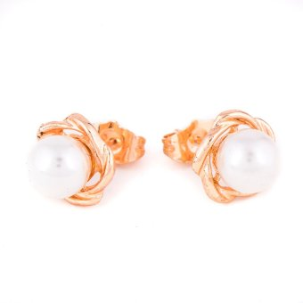 Piedras Two in One Earrings (Gold) - picture 2