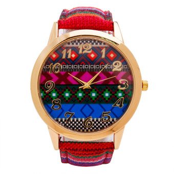 Piedras Women's Multicolor Leather Watch Strap wt23
