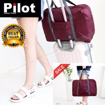 Pilot Korean Style 1028 Unisex Large Capacity MultifunctionOrganizer Foldable Water Proof Travel Luggage Sport Handbag Bag