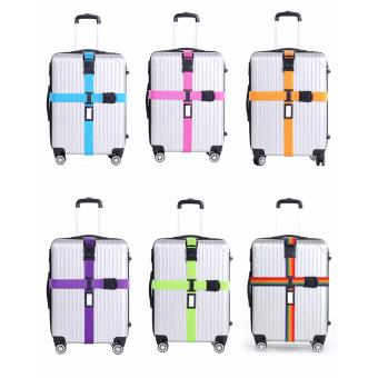 Pilot NP-005 Adjustable Quick Release Buckle Luggage SuitcasePacking Strap Belt Tie With Free Luggage Tag - 2