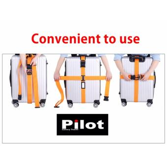 Pilot NP-005 Adjustable Quick Release Buckle Luggage SuitcasePacking Strap Belt Tie With Free Luggage Tag - 3