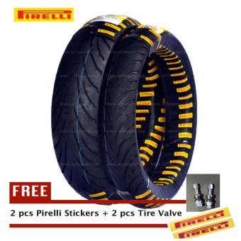 Pirelli Angel CiTy KTM Duke 200 2xTires Set (Front:110/70-17 54S TL Rear: 150/60-17 66S TL) Price Philippines