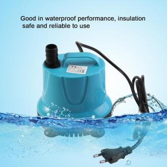 Plastic 2000L/H Fish Tank Aquarium Water Submersible Pump Blue WithEU Plug SM-38L