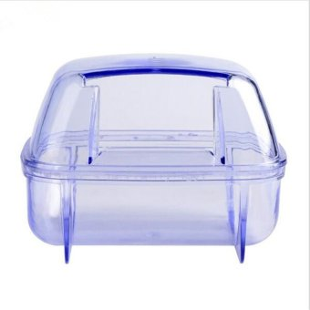 Plastic Pet Hamster Sauna Room Deodorizing Small Animal HamsterSand Bath Room Bathroom Potty 2 Colors - intl - 5