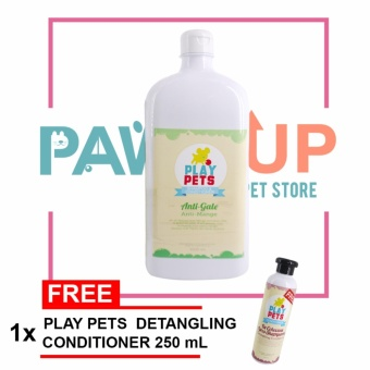 Play pets Anti-Mange Shampoo and Conditioner 1000 ml Bundle