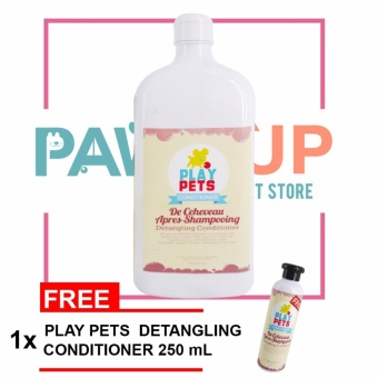 Play pets Detangling Conditioner 1000 ml Bundle Price Philippines