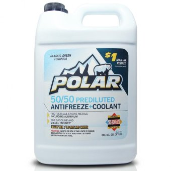 Polar 50/50 Long Life Ready to Use Coolant/Antifreeze 1gal (3.785L)PN#150