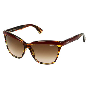 Police Bonita 2 S1878 0WT8 Sunglasses (Tortoise Brown/ Burgundy)