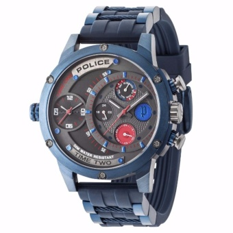 POLICE Justice League Inspired Silicone Watch PPL.14536J-SUPERMAN