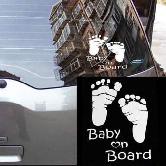 Popular Baby On Board Vinyl Car Graphics Window Vehicle StickerDecal Decor Auto - intl