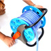 Portable 30M Garden Water Hose Reel Cart Water Pipe Storage Rack Holder