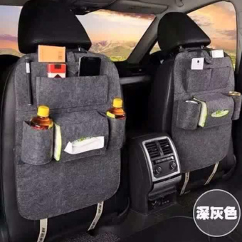 Portable Car Backseat Organizer (Black)