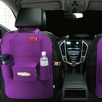 Portable Car Backseat Organizer (Violet) - 2