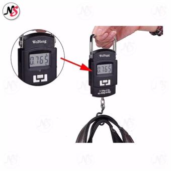 Portable Hanging Electronic Digital Weighing Scale 50kg WH-A08 (Black) - 3