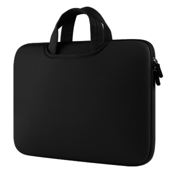 Portable Notebook Briefcase Handbag Protective Sleeve Pouch CaseBag for Apple MacBook Pro Air Universal 15.4 inch Laptop PCUltrabooks