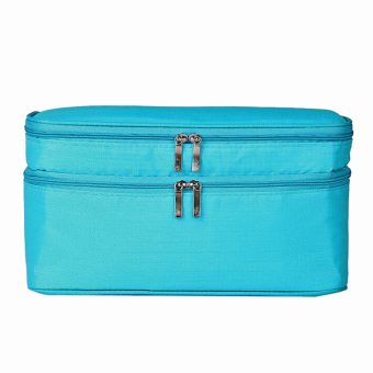 Portable Toiletry Bag Cosmetic Pouch (Sky Blue) (Intl) - picture 2