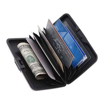 Prado2u As Seen On TV Wallet Credit Card ID Holder Aluminum CaseSilver - intl - 2