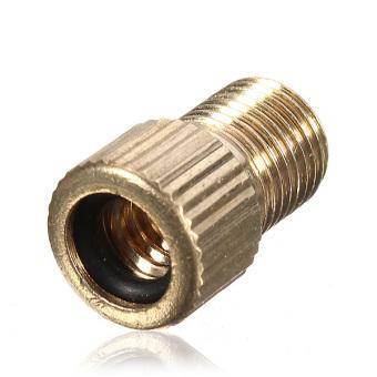 Presta Valve To Schrader Pump Adaptor Tyre Valve Converter Brass