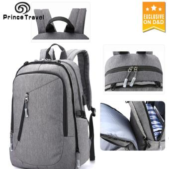 Prince Travel 1801 Computer Backpack Business&Leisure Double Shoulders Bag Outdoor Student School Bags
