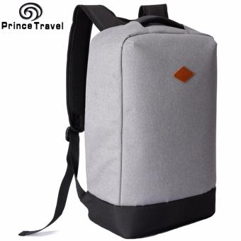 PRINCE TRAVEL Anti-Theft Business Laptop Backpack (Grey)