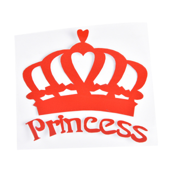 Princess Crown Car Sticker Car Decor Accessory Motorcycles StickerDecal - intl Price Philippines