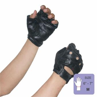 PROCARE PROTECT #1016 Motorbike Gloves 100% Cowhide Leather Pair (Black) SIZE(MEDIUM)