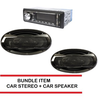 Proline GPX-88BT Car Stereo (Black) bundle with Car Speaker TX-6995