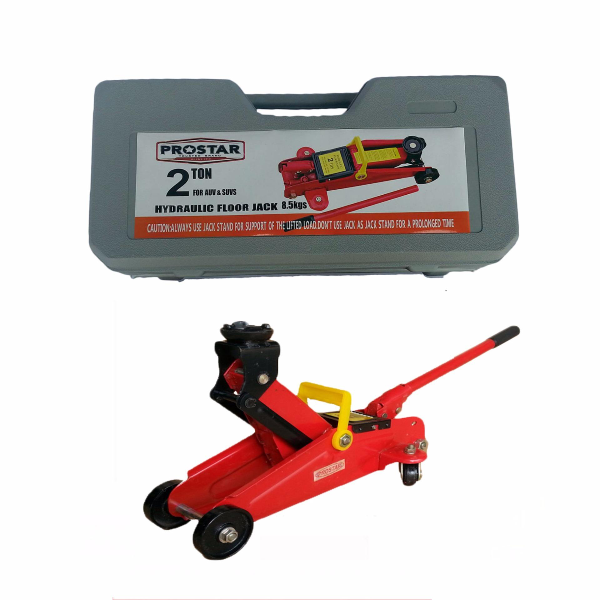 with car trolley floor ton jacks red jack stands big p
