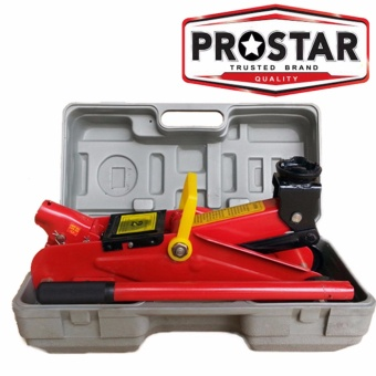 Prostar Hydraulic Floor Jack 2 ton 300 mmMax Lift with Blown Case Price Philippines