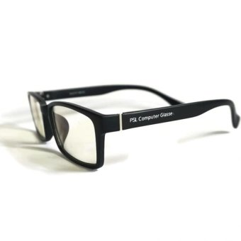 PSL The Jaw Computer Glasses (Chrome Black) - Anti Blue Light, Anti-Radiation, Anti-eye Fatigue - 3