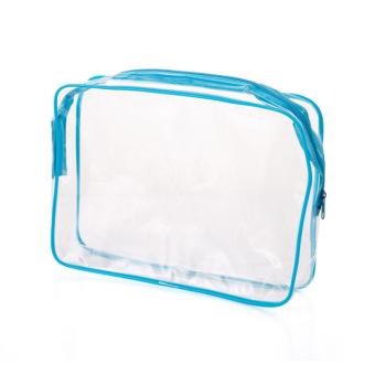 PVC Transparent travel large capacity storage bag waterproof wash bag