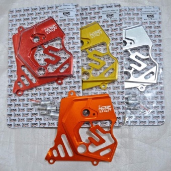 PZ TECH SPROCKET COVER R-150 RED