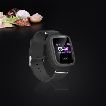 Q60 Smart Watch GPS Tracker SOS Call Children for Android iOS iPhone Black - intl
