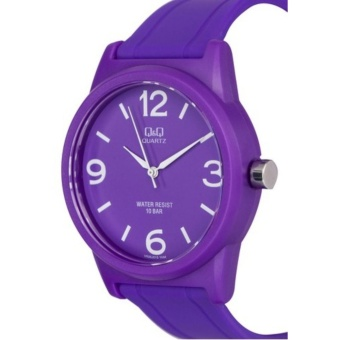 Q&Q Japan by Citizen, QQ VR35J015Y Violet, Analog 100-Meter Water Resistant Men's and Women's Watch - 2