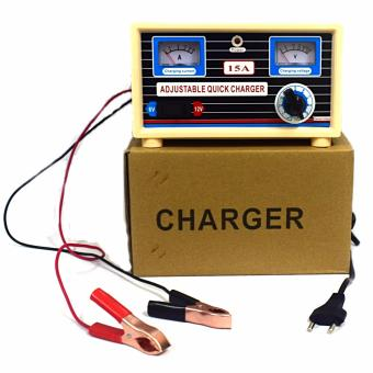 QUICK BATTERY CHARGER FOR CAR BATTERIES 15A