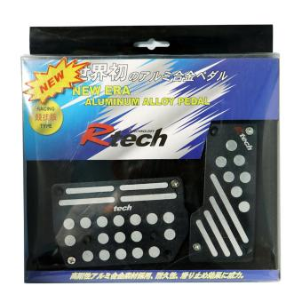 R TECH RACING TYPE PADS AUTOMATIC BLACK 13025