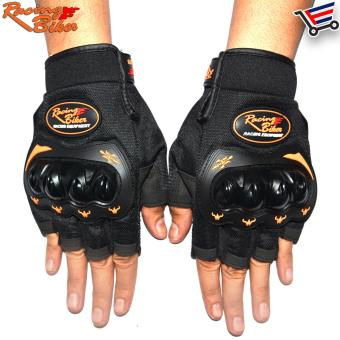Racing Bike Motorcycle Sports Racing Gloves Half Finger - XL(Black) Price Philippines