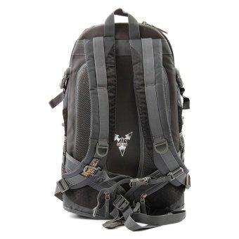 Racini 40-371 Mountaineering Backpack (Dark Gray/Black) - 2
