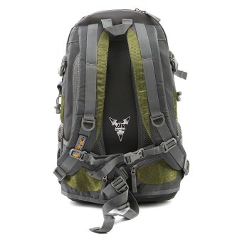 Racini 40-371 Mountaineering Backpack (Dark Gray/Mold Green) - 2